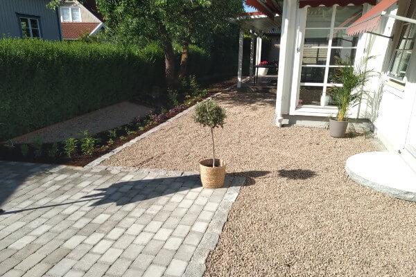 trädgårdsanläggning nd service